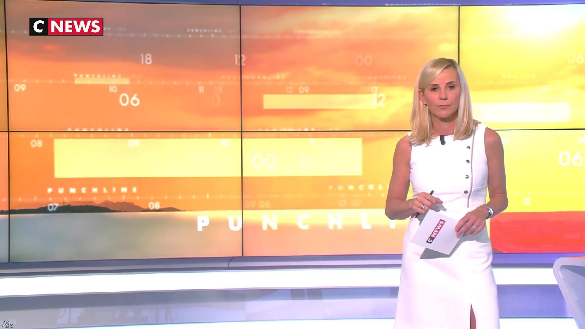 Laurence Ferrari dans Punchline. Diffusé à la télévision le 25/09/19.