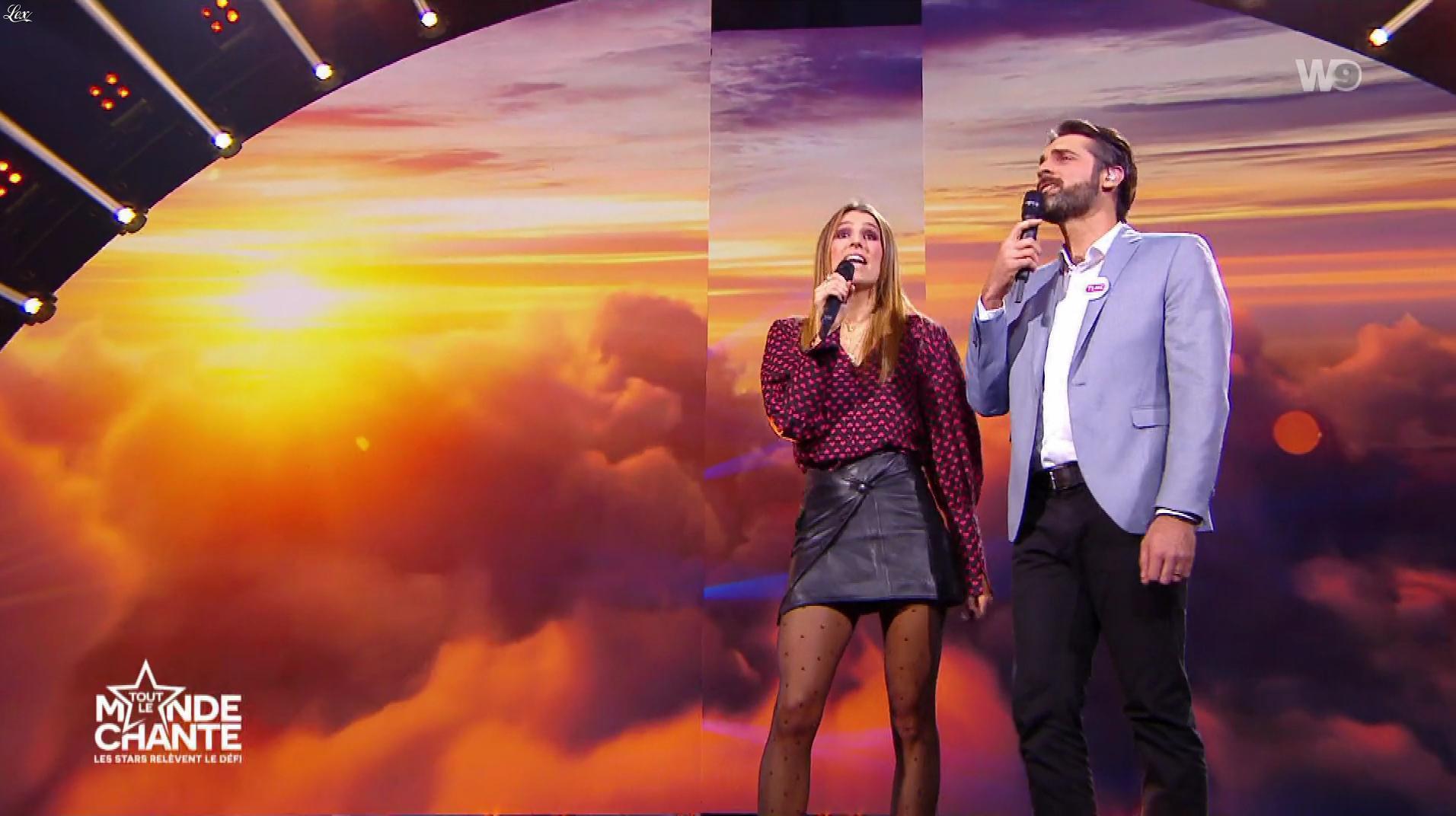 Laury Thilleman dans Tout le Monde Chante. Diffusé à la télévision le 14/01/20.