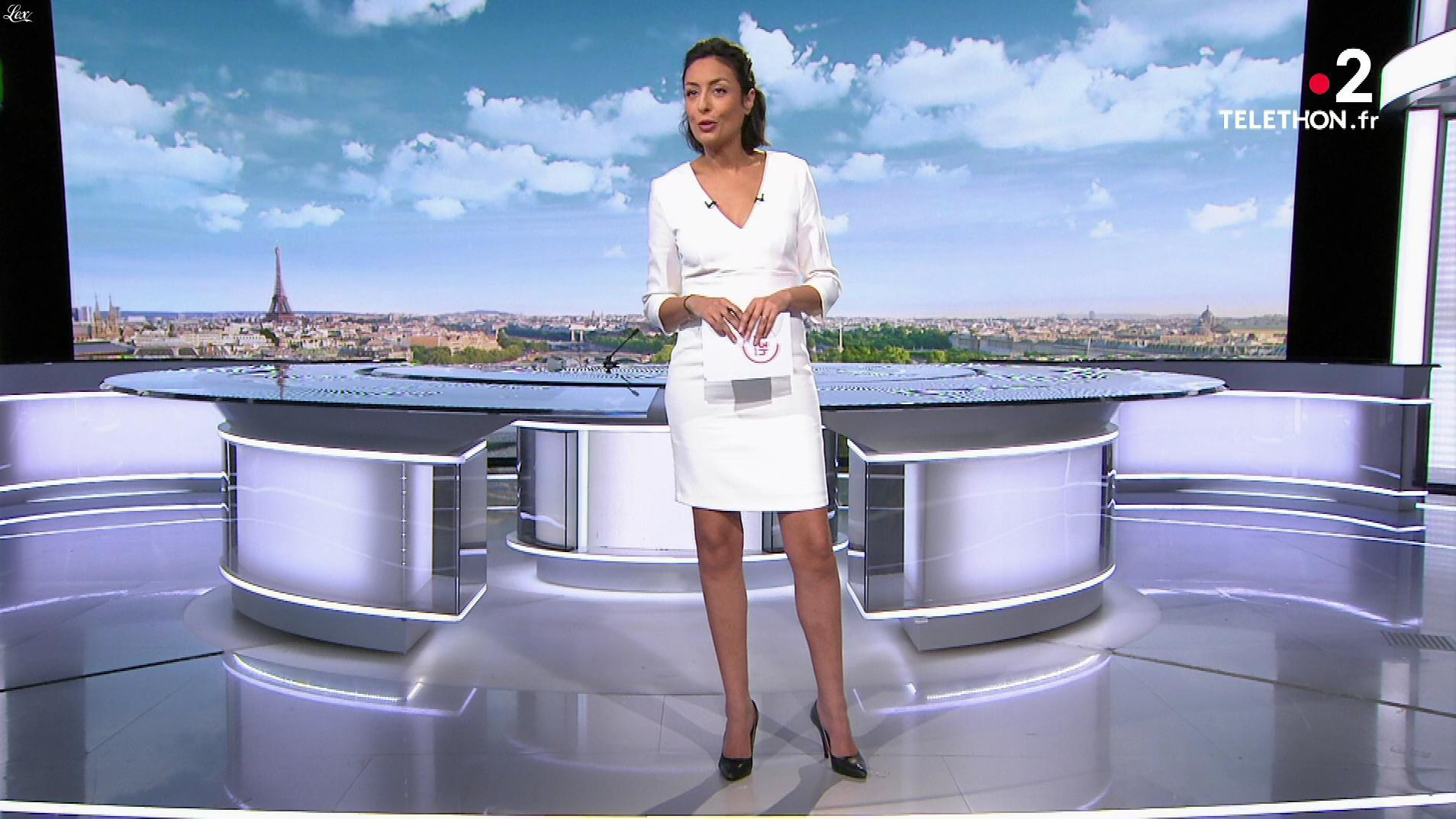Leïla Kaddour dans le 13h. Diffusé à la télévision le 07/12/19.