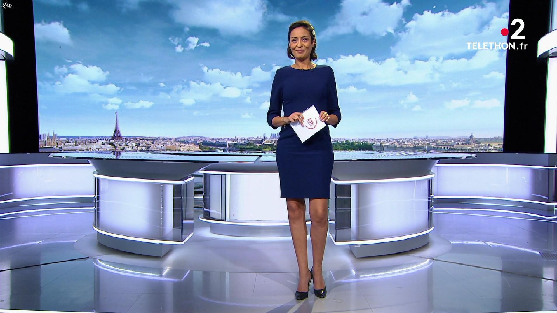 Leïla Kaddour dans le 13h. Diffusé à la télévision le 08/12/19.