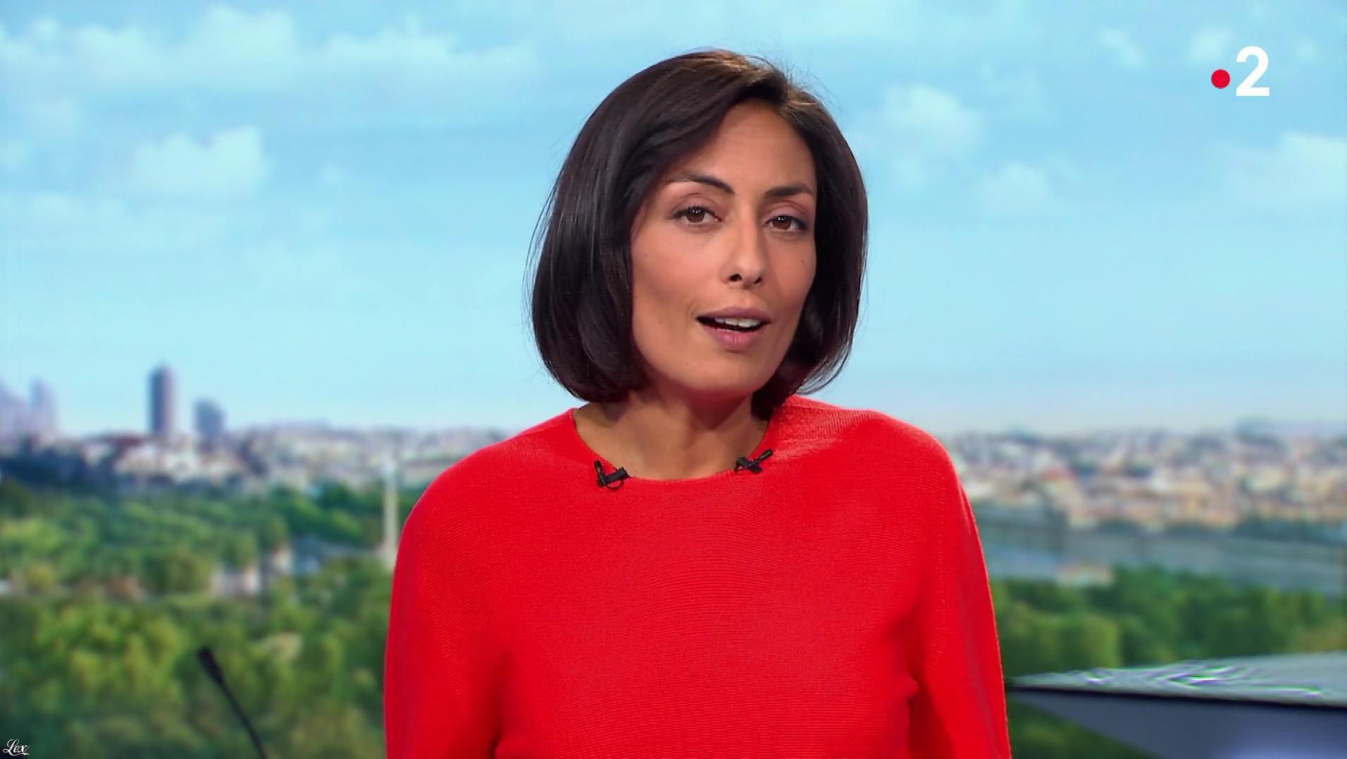 Leïla Kaddour dans le 13h. Diffusé à la télévision le 12/10/19.