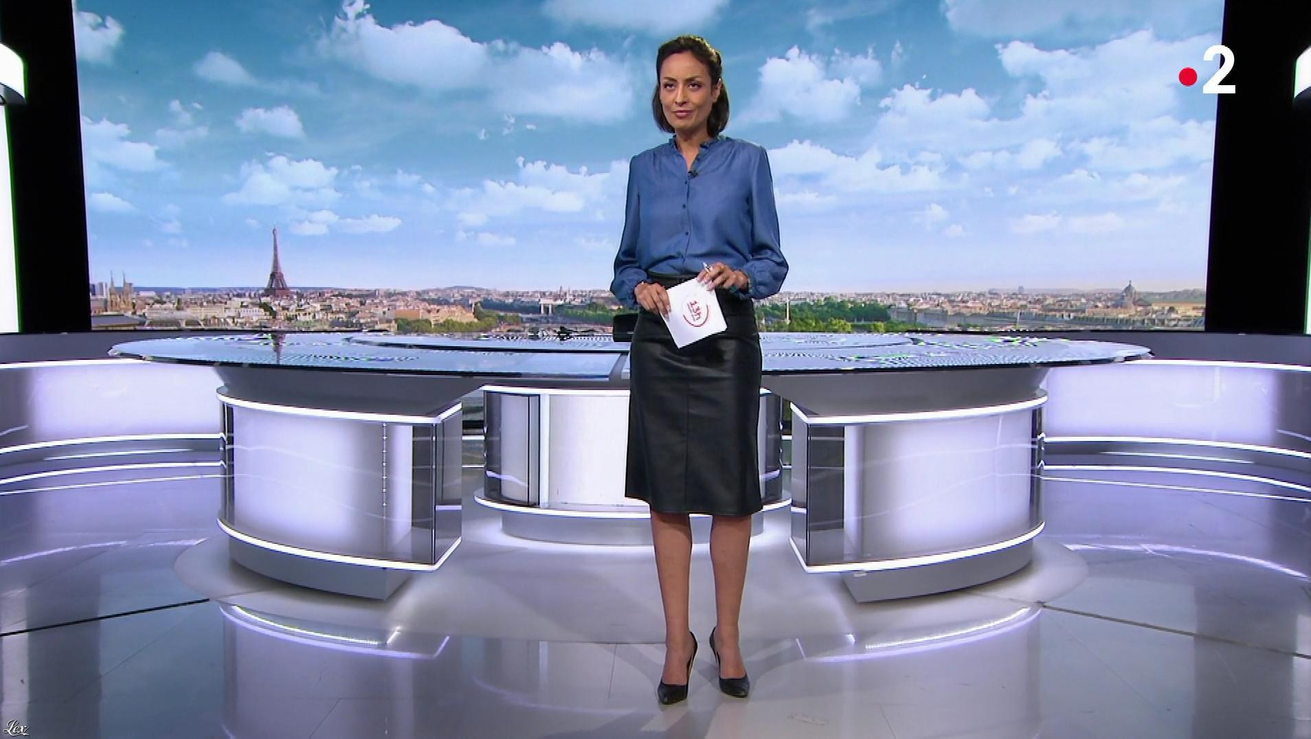 Leïla Kaddour dans le 13h. Diffusé à la télévision le 15/12/19.