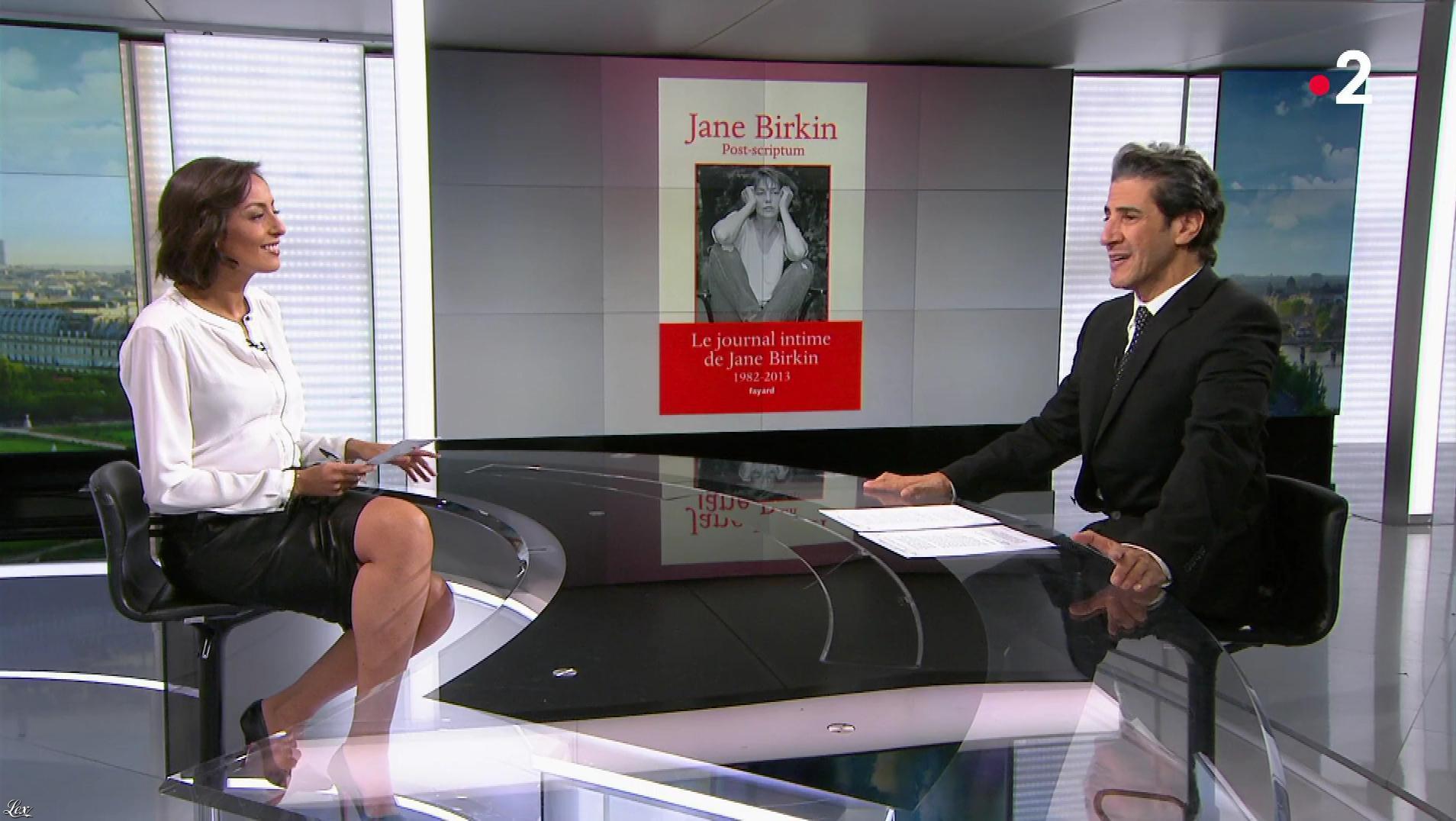 Leïla Kaddour dans le 13h. Diffusé à la télévision le 16/11/19.