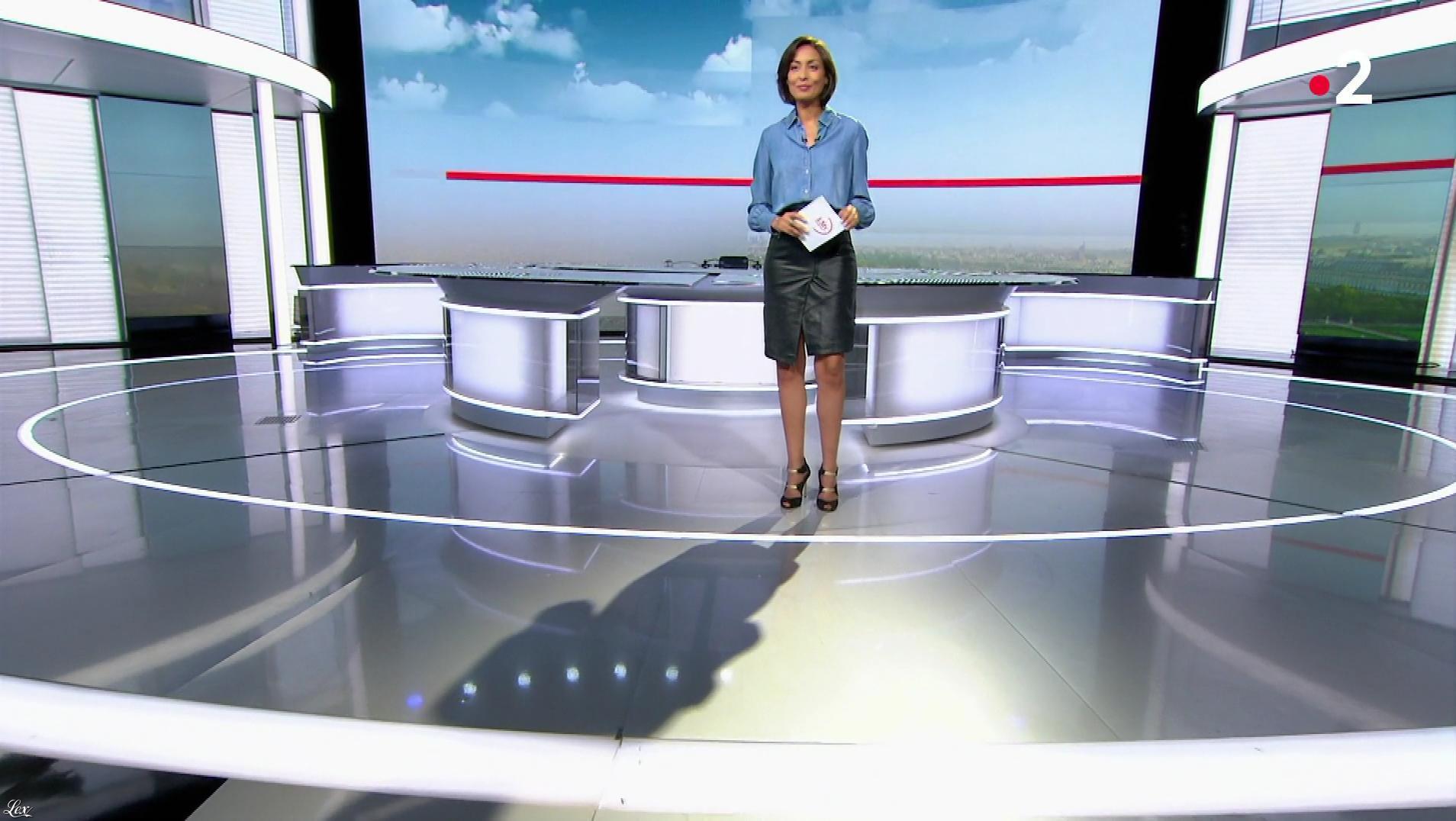 Leïla Kaddour dans le 13h. Diffusé à la télévision le 29/09/19.