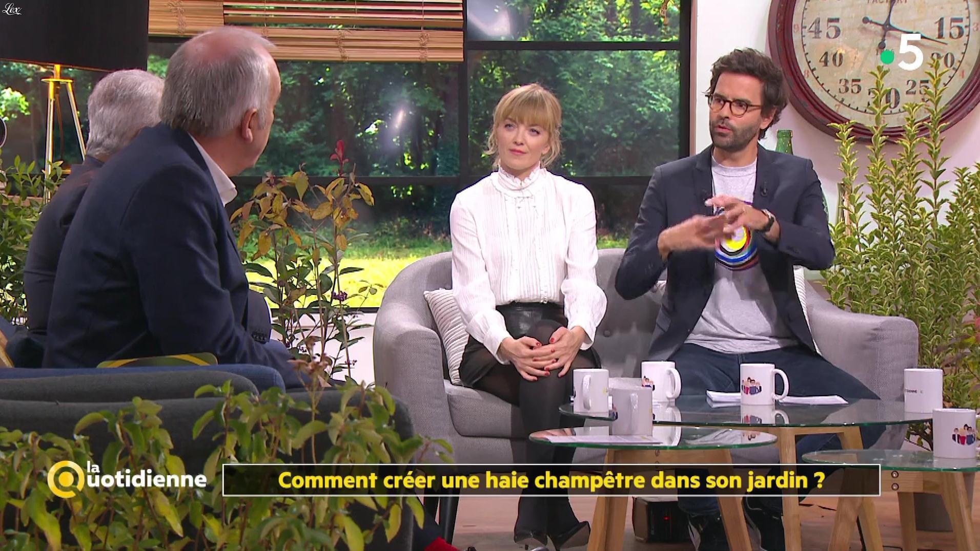 Maya Lauqué dans la Quotidienne. Diffusé à la télévision le 08/11/19.