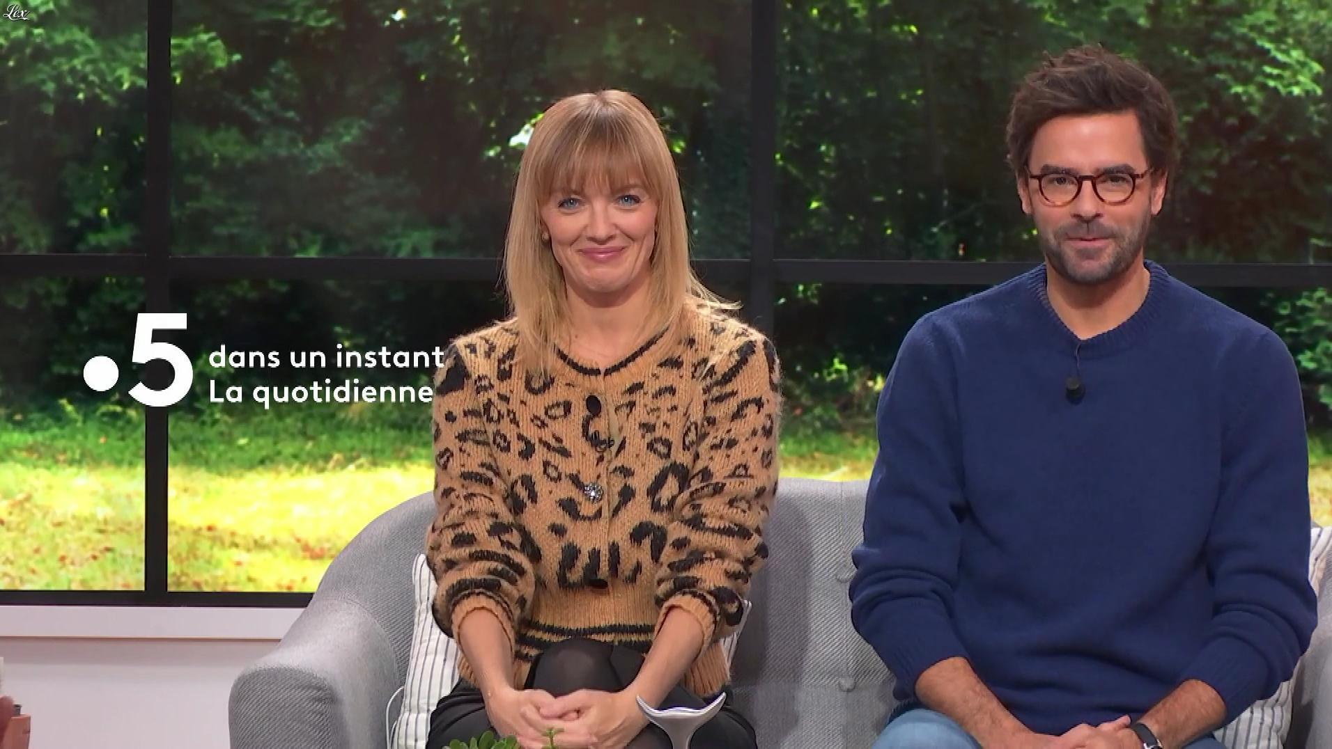 Maya Lauqué dans la Quotidienne. Diffusé à la télévision le 13/12/19.