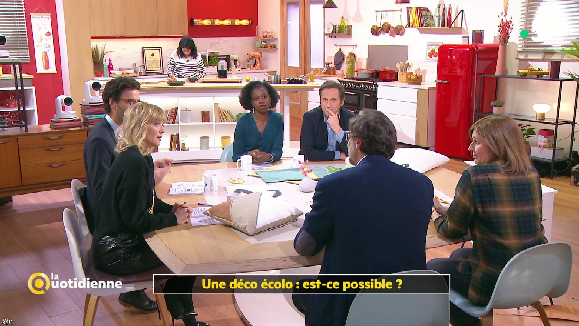 Maya Lauqué dans la Quotidienne. Diffusé à la télévision le 19/11/19.