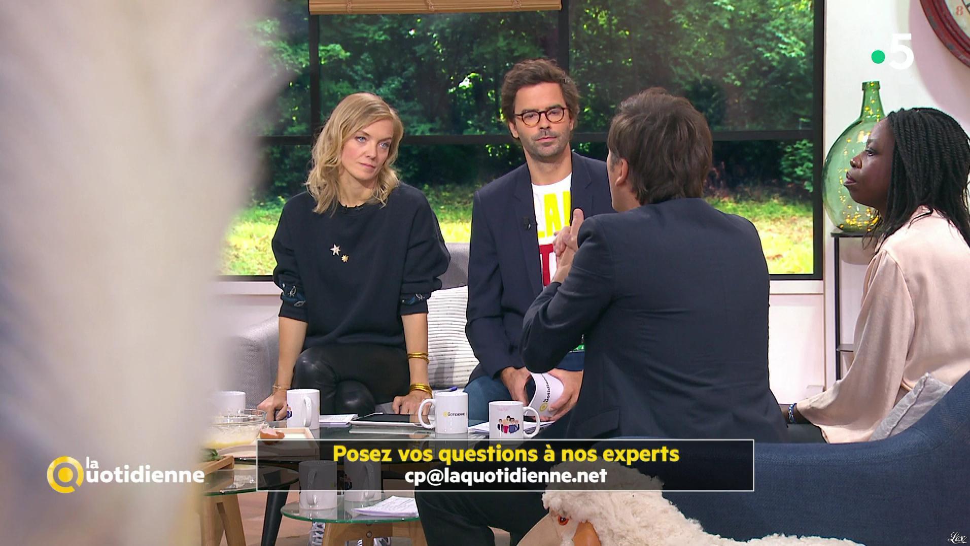 Maya Lauqué dans la Quotidienne. Diffusé à la télévision le 28/10/19.