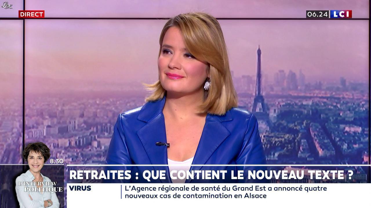 Pascale De La Tour Du Pin dans la Matinale. Diffusé à la télévision le 02/03/20.