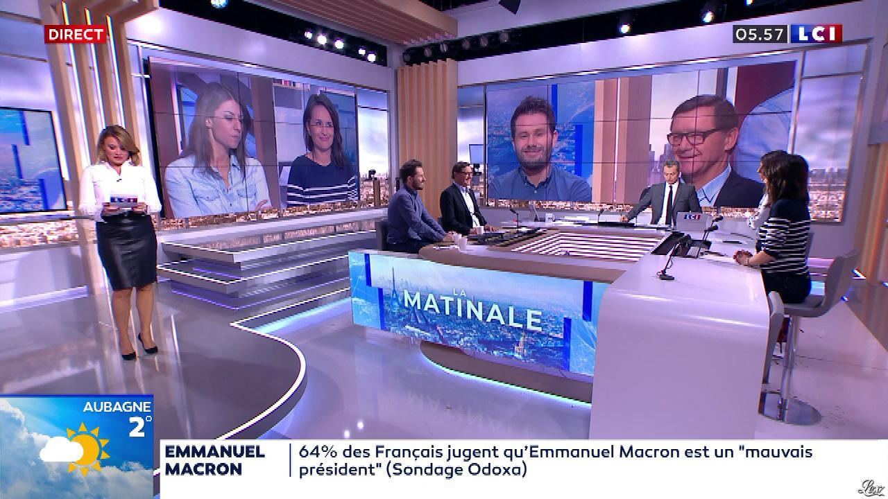 Pascale De La Tour Du Pin dans la Matinale. Diffusé à la télévision le 07/02/20.