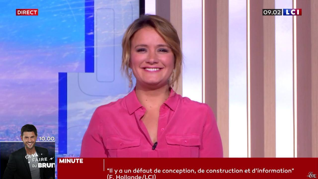 Pascale De La Tour Du Pin dans la Matinale. Diffusé à la télévision le 20/02/20.