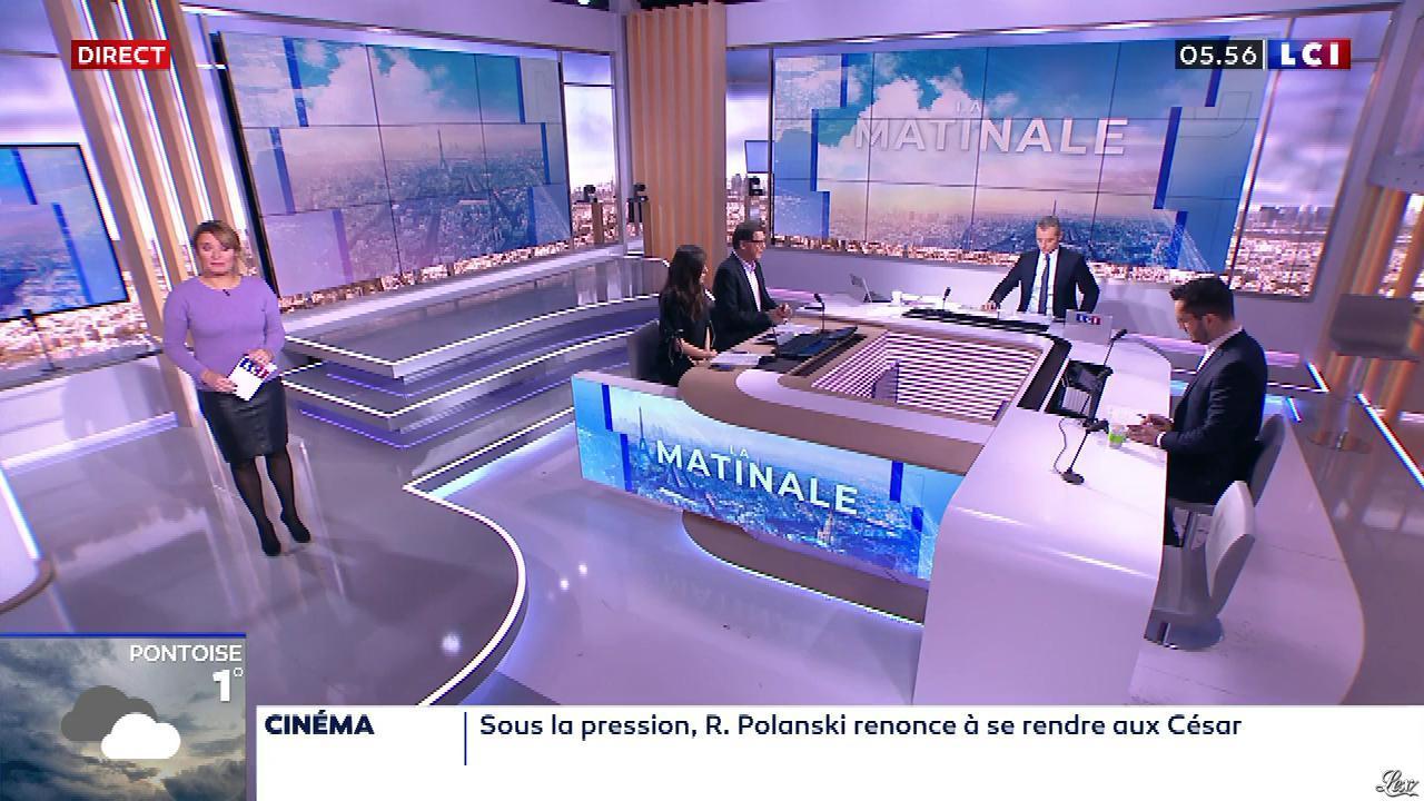 Pascale De La Tour Du Pin dans la Matinale. Diffusé à la télévision le 28/02/20.