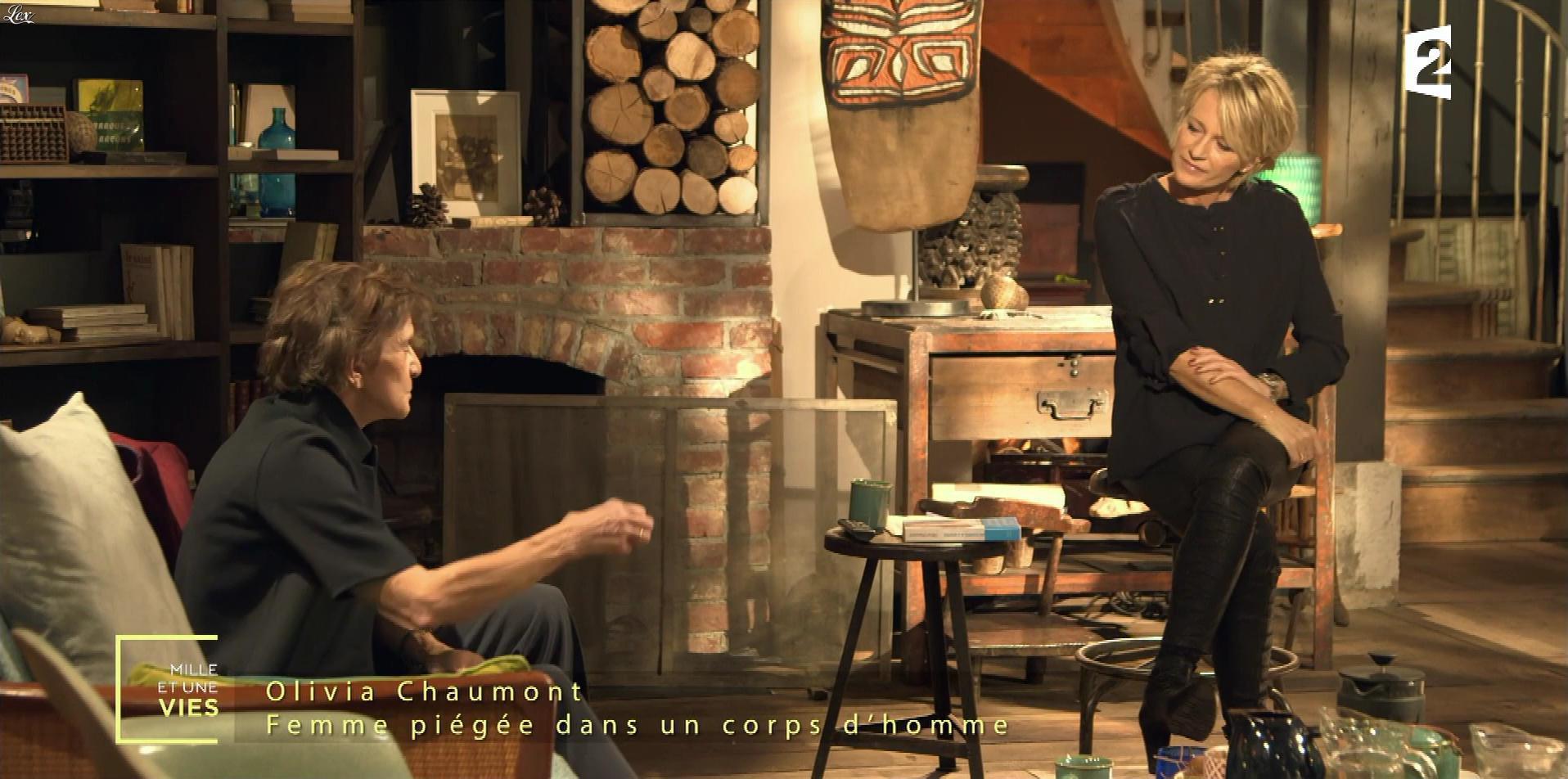 Sophie Davant dans Mille et une Vies. Diffusé à la télévision le 06/01/17.