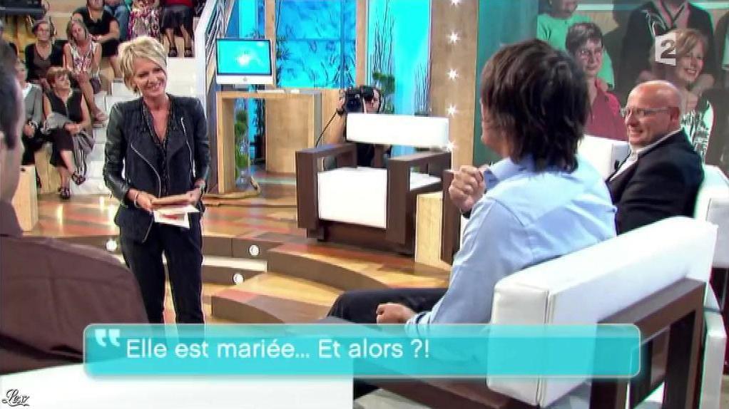 Sophie Davant dans Toute une Histoire. Diffusé à la télévision le 07/07/16.