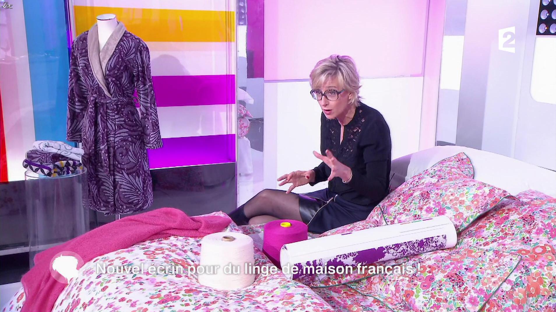 Sylvie Adigard dans c'est au Programme. Diffusé à la télévision le 06/02/17.