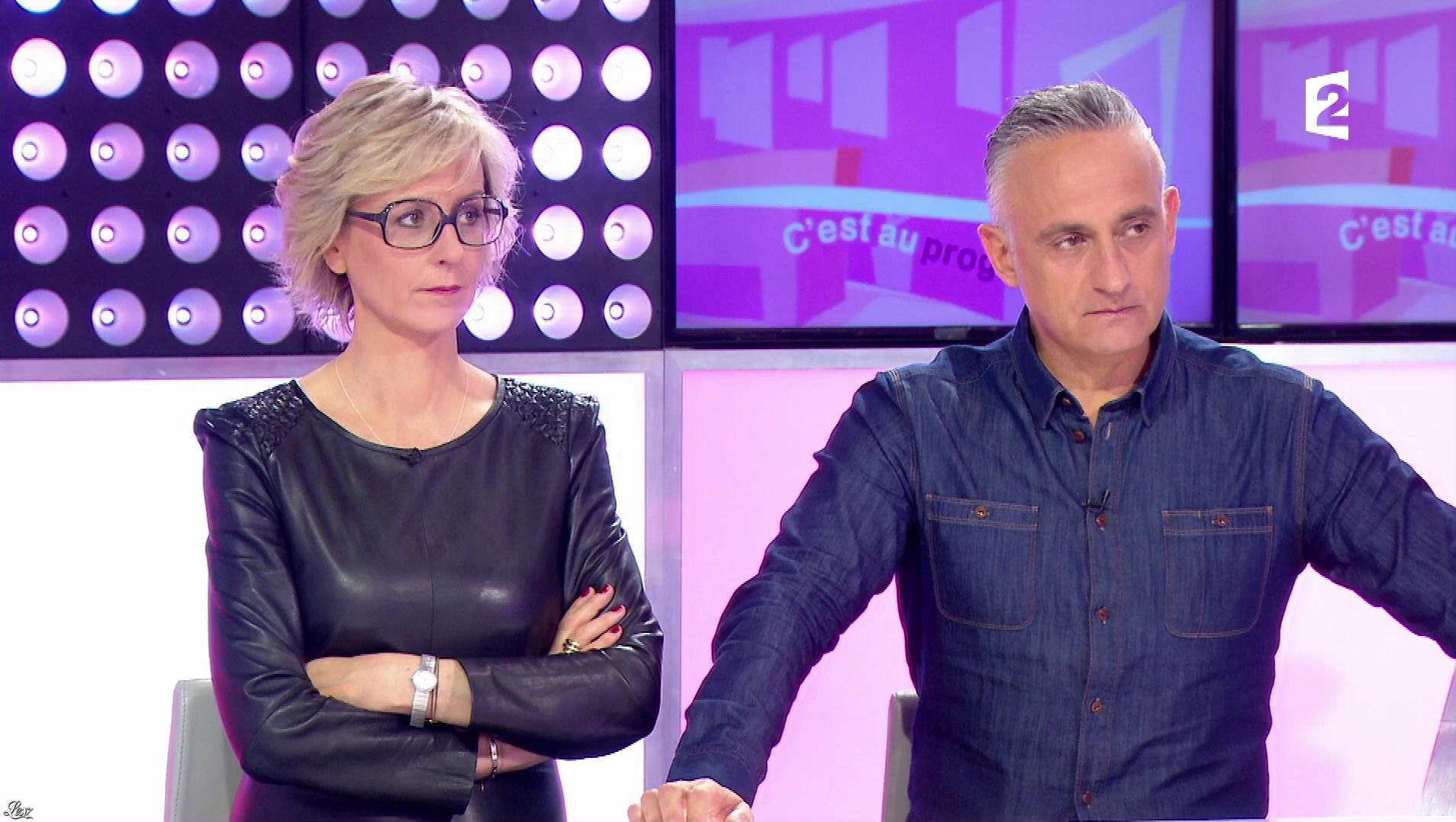 Sylvie Adigard dans c'est au Programme. Diffusé à la télévision le 06/04/17.