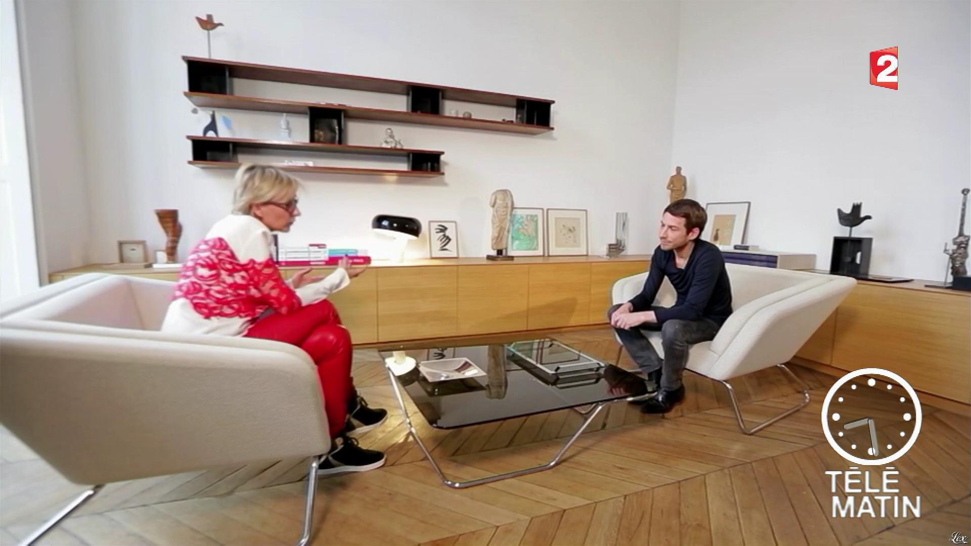 Sylvie Adigard dans Télématin. Diffusé à la télévision le 18/01/17.