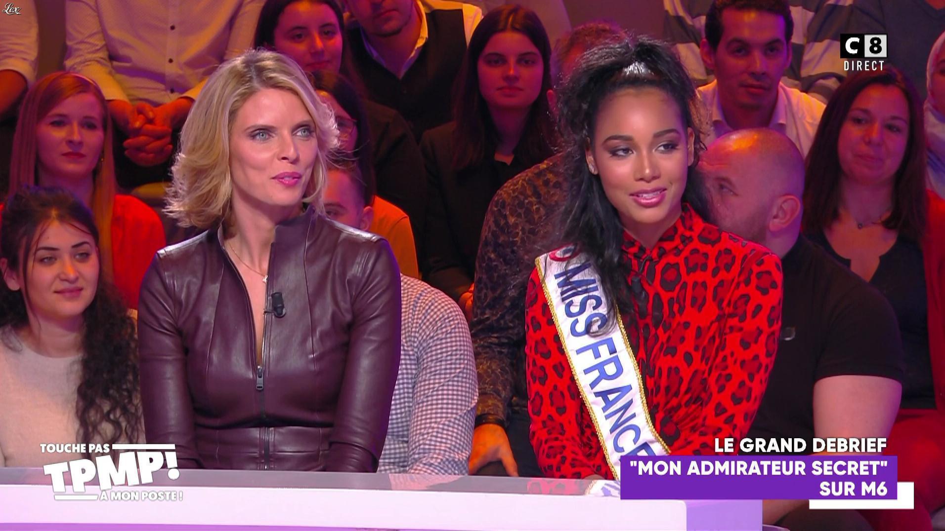 Sylvie Tellier dans Touche pas à mon Poste. Diffusé à la télévision le 07/01/20.
