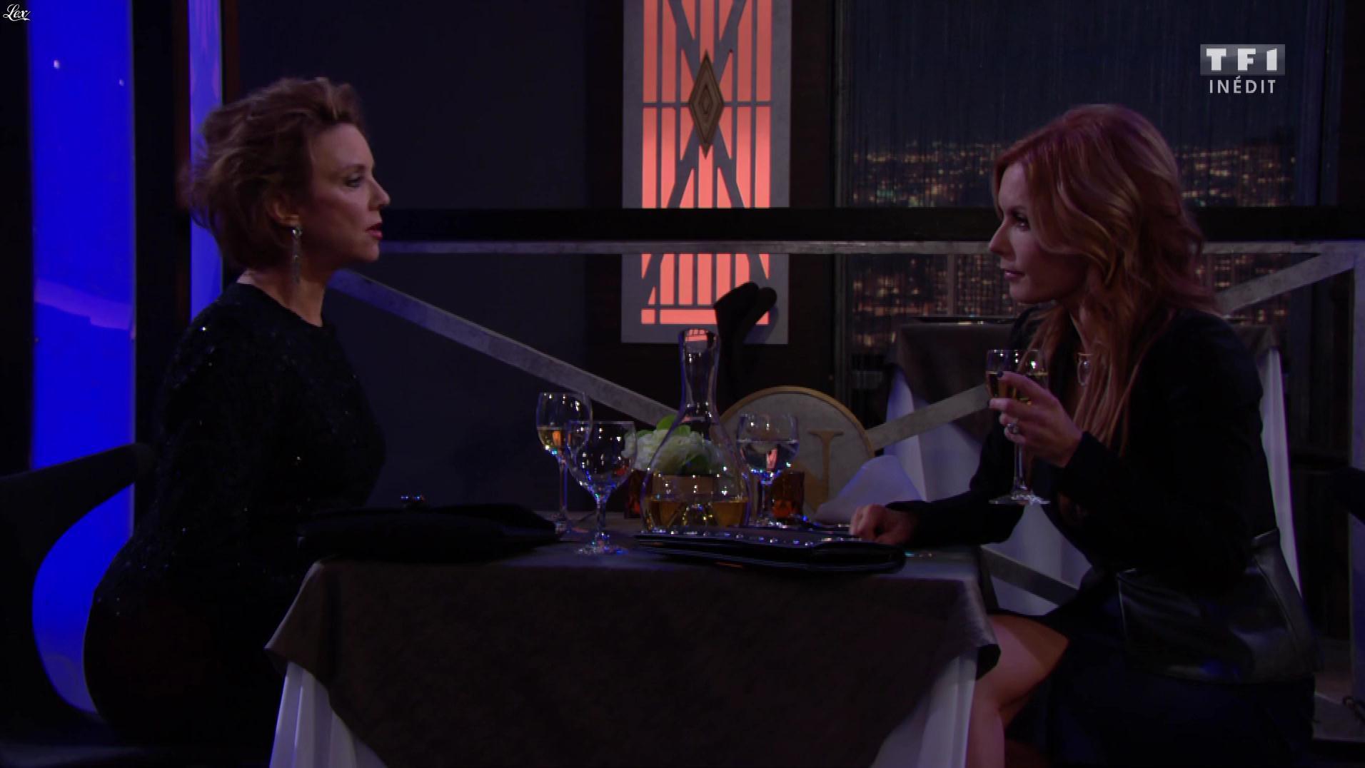 Tracey E. Bregman dans les Feux de l'Amour. Diffusé à la télévision le 06/12/19.