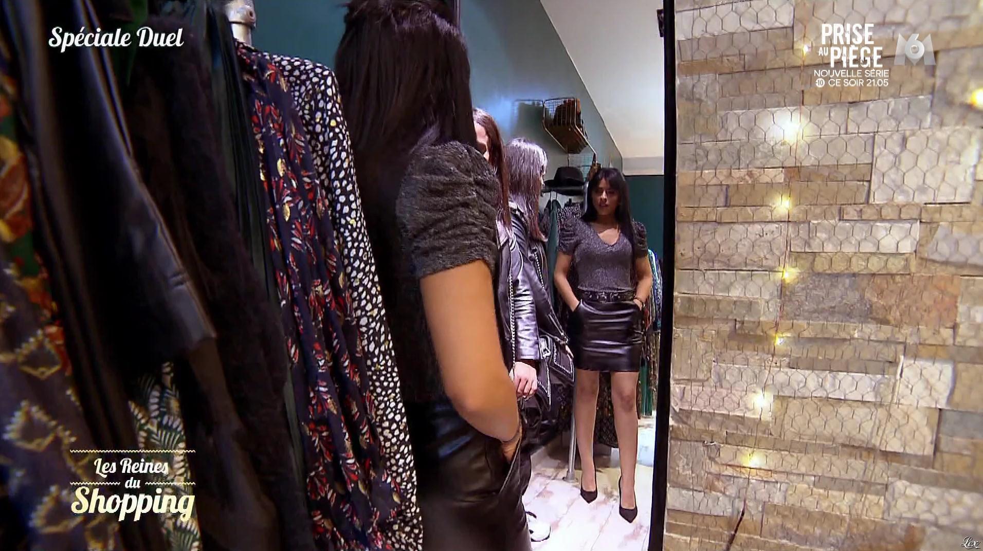 Une Candidate dans les Reines du Shopping. Diffusé à la télévision le 11/12/19.