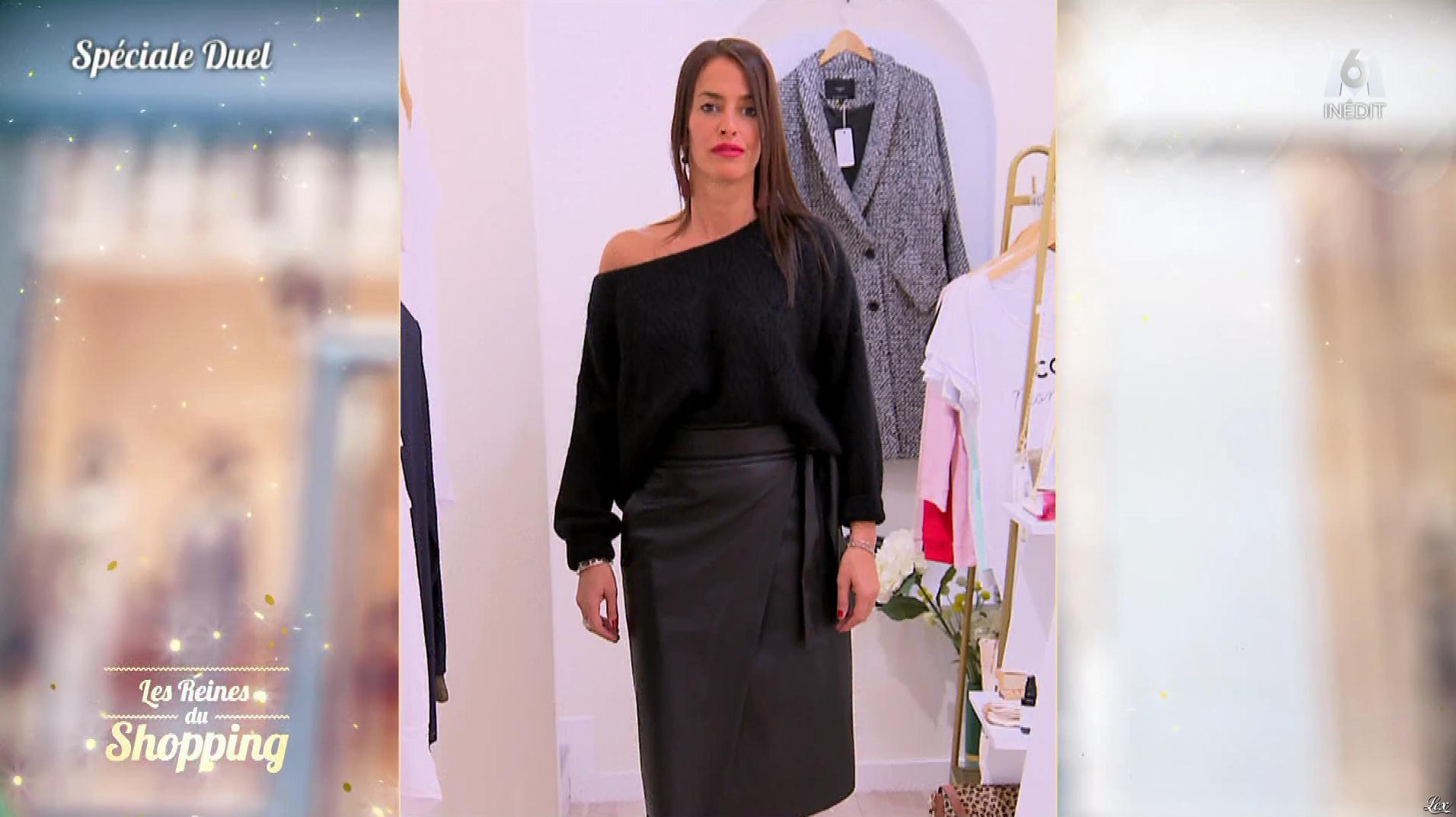 Une Candidate dans les Reines du Shopping. Diffusé à la télévision le 19/12/19.