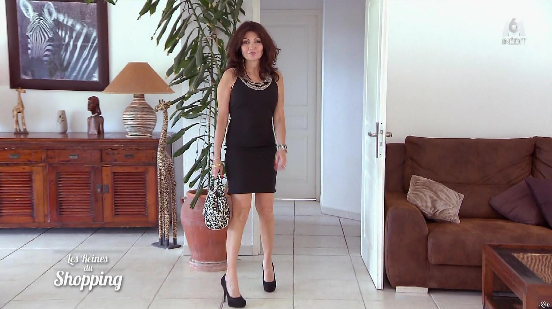 Une Candidate dans les Reines du Shopping. Diffusé à la télévision le 20/01/17.