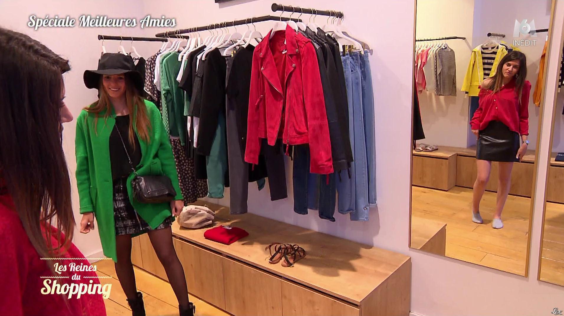 Une Candidate dans les Reines du Shopping. Diffusé à la télévision le 20/09/19.