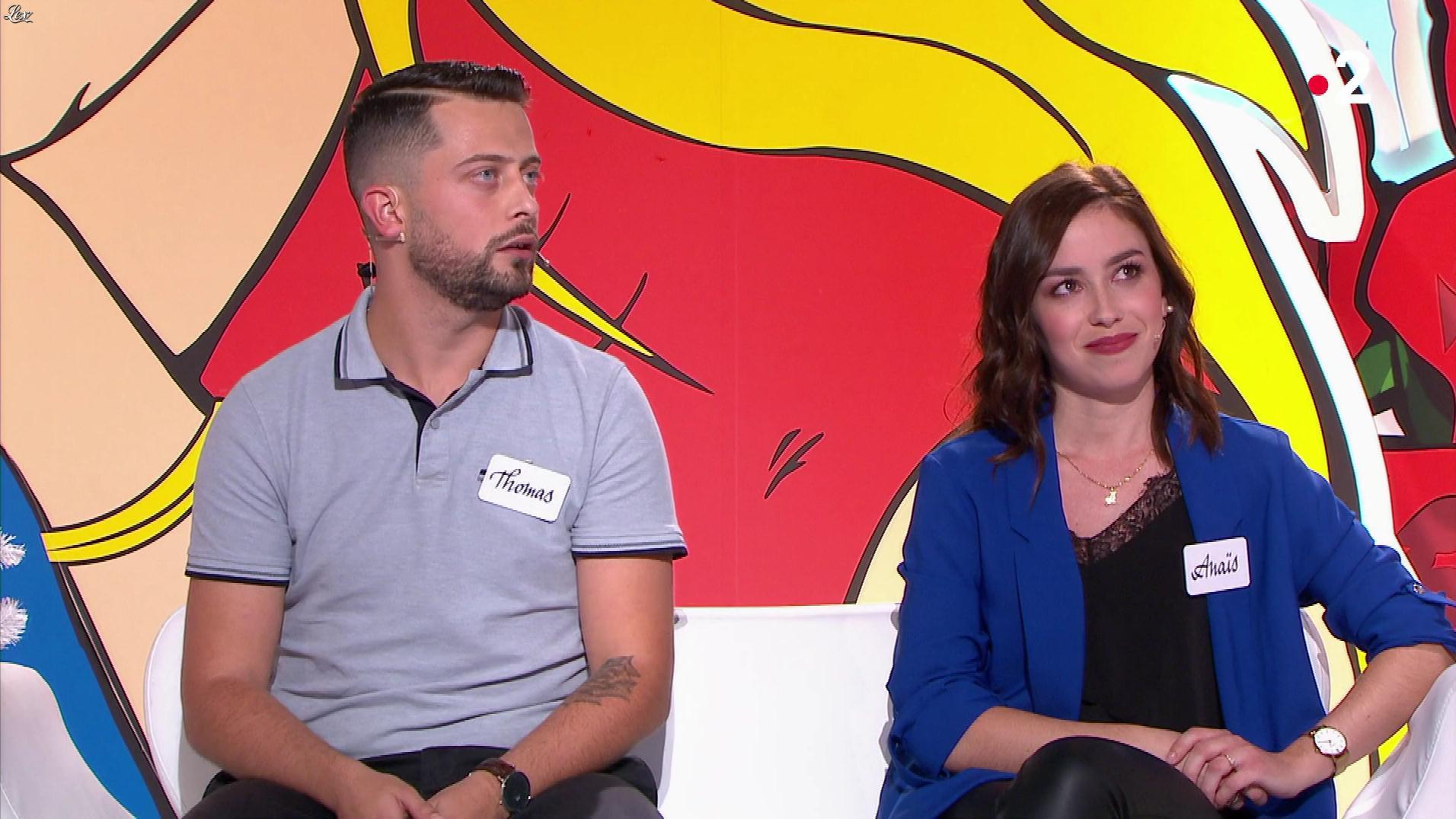 Une Candidate dans les Z'Amours. Diffusé à la télévision le 13/12/19.