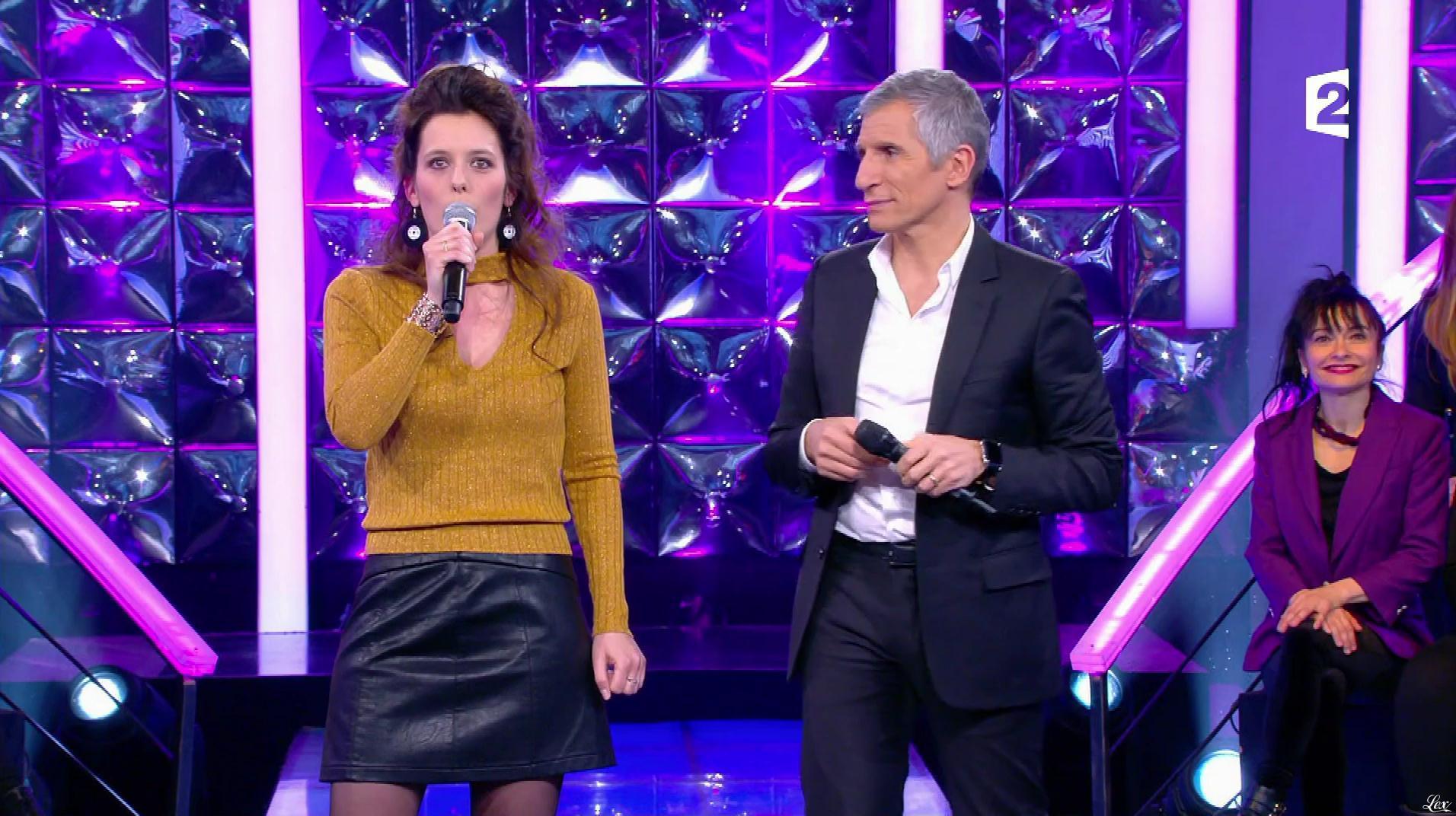 Une Candidate dans n'Oubliez pas les Paroles. Diffusé à la télévision le 23/02/17.