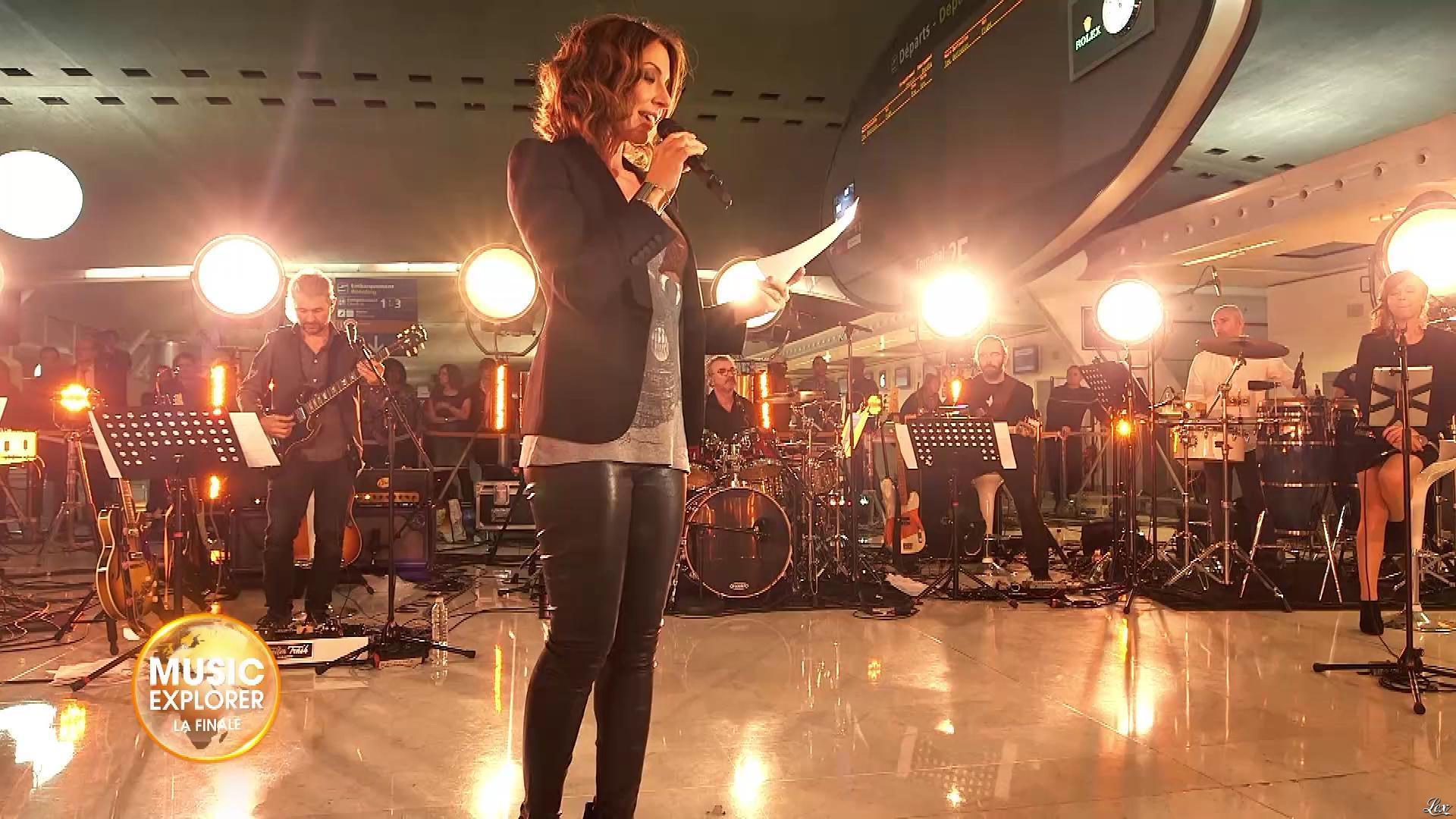 Virginie Guilhaume dans Music Explorer. Diffusé à la télévision le 22/07/19.