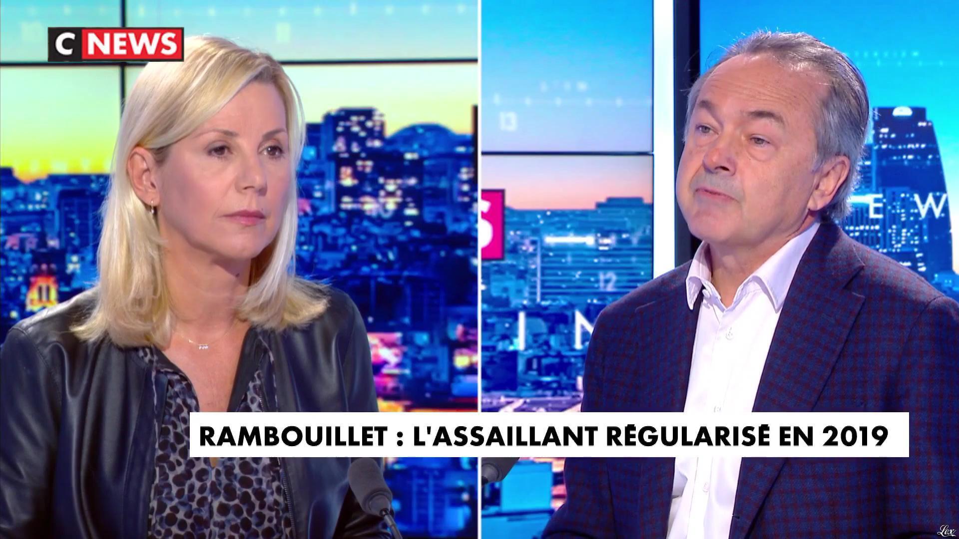 Laurence Ferrari dans l'Interview de Laurence Ferrari. Diffusé à la télévision le 27/04/21.