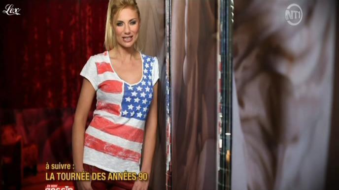 Ariane Brodier dans En Mode Gossip. Diffusé à la télévision le 10/04/11.