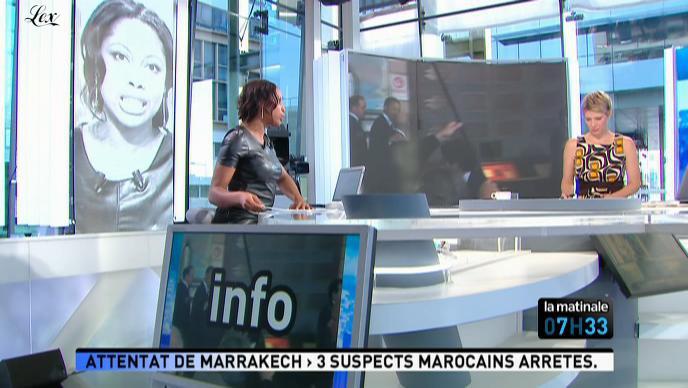 Elé Asu dans la Matinale. Diffusé à la télévision le 06/05/11.
