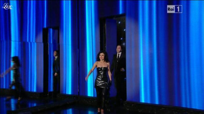 Giusy Ferreri dans San Remo. Diffusé à la télévision le 18/02/11.