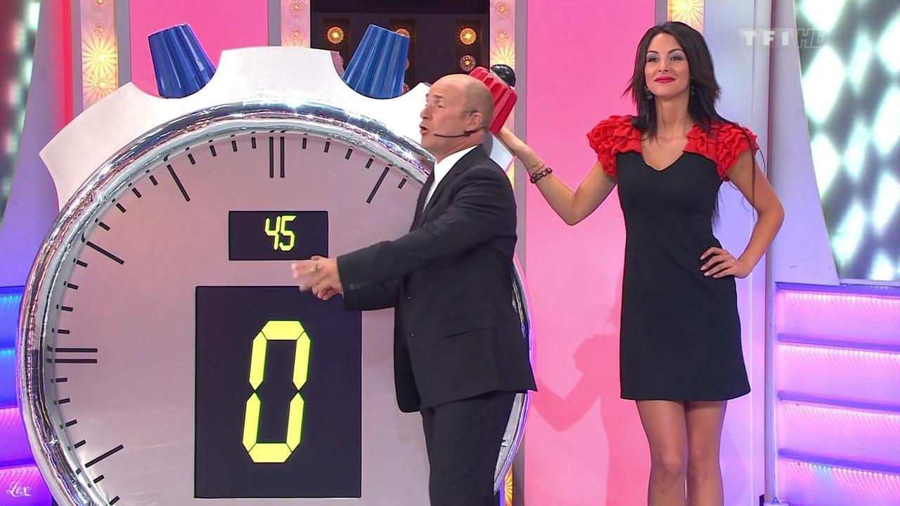 Fanny Veyrac dans le Juste Prix. Diffusé à la télévision le 29/11/11.