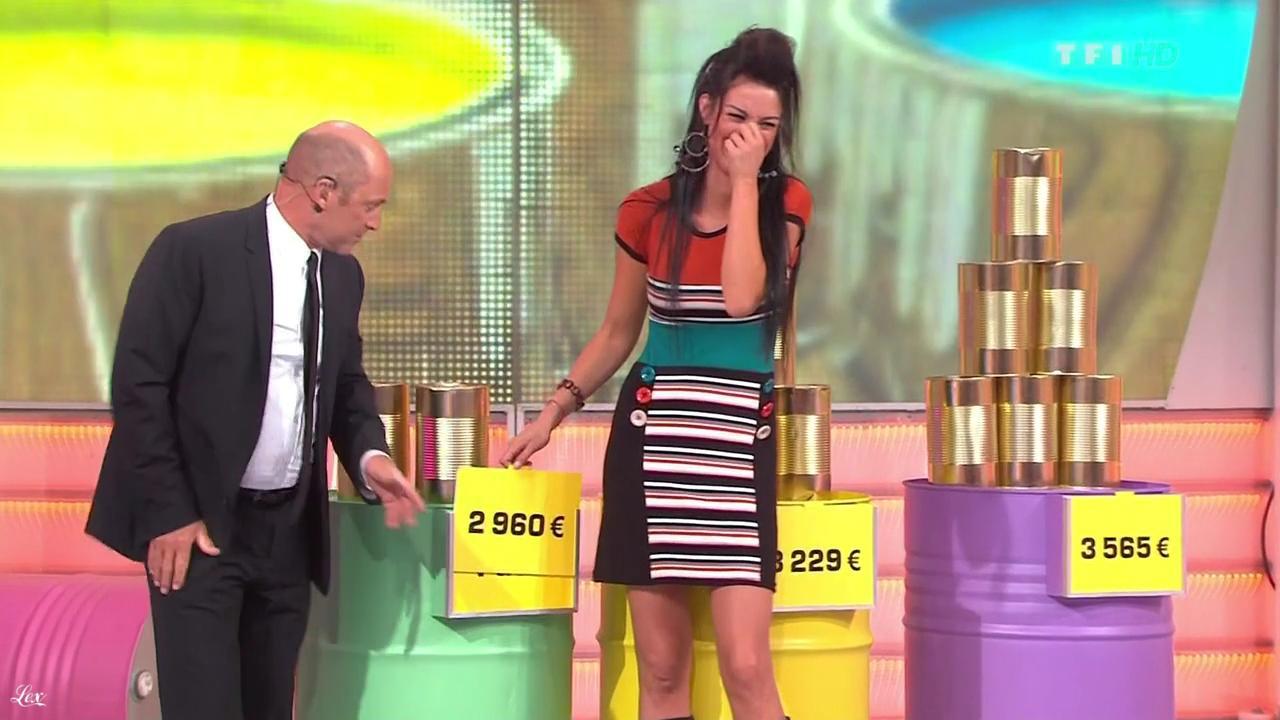 Fanny Veyrac dans le Juste Prix. Diffusé à la télévision le 30/11/11.