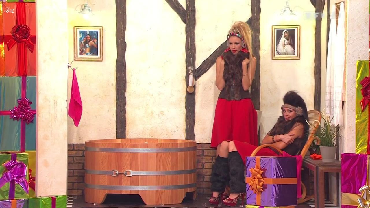 Les Gafettes, Nadia Aydanne et Fanny Veyrac dans le Juste Prix. Diffusé à la télévision le 28/11/11.