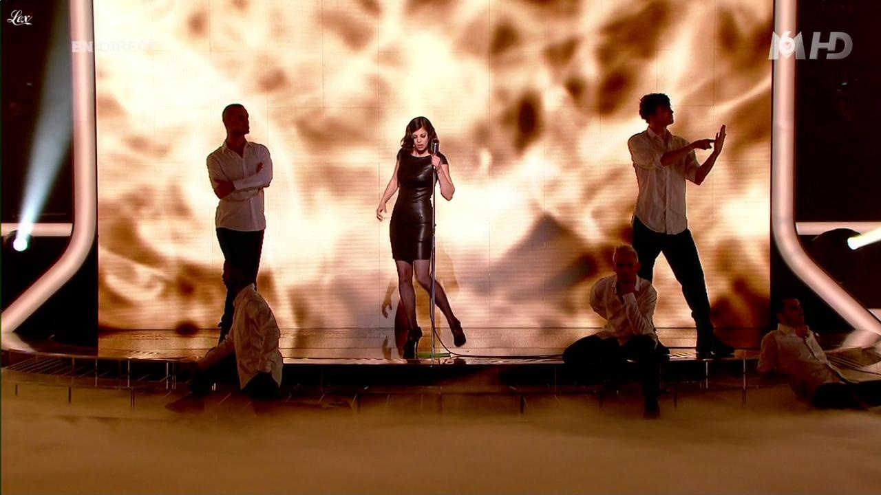 Maryvette Lair dans X Factor. Diffusé à la télévision le 26/04/11.