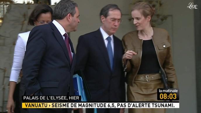 Nathalie Kosciusko-Morizet dans la Matinale. Diffusé à la télévision le 17/03/11.