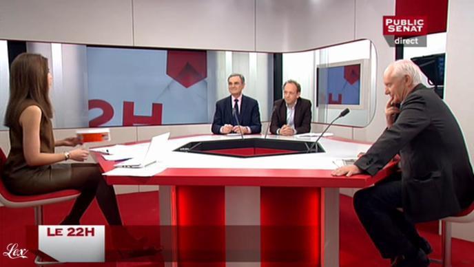 Sonia Mabrouk dans le 22h. Diffusé à la télévision le 28/03/11.