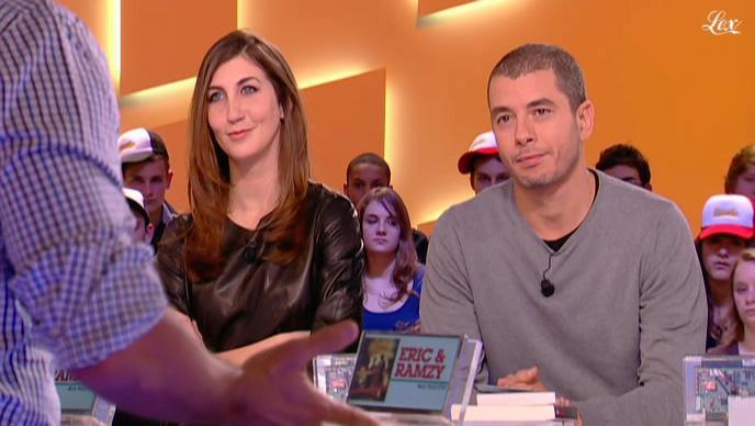 Tania Bruna-Rosso dans le Grand Journal De Canal Plus. Diffusé à la télévision le 11/02/11.