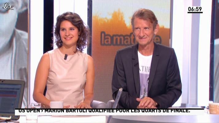 Apolline de Malherbe dans la Matinale. Diffusé à la télévision le 03/09/12.