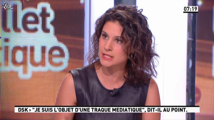 Apolline de Malherbe dans la Matinale. Diffusé à la télévision le 10/10/12.