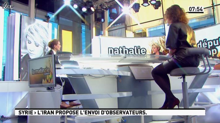 Apolline de Malherbe dans la Matinale. Diffusé à la télévision le 19/09/12.