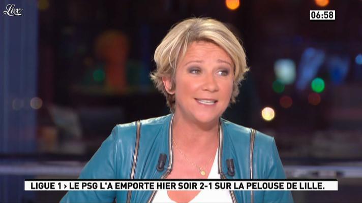 Ariane Massenet dans la Matinale. Diffusé à la télévision le 03/09/12.