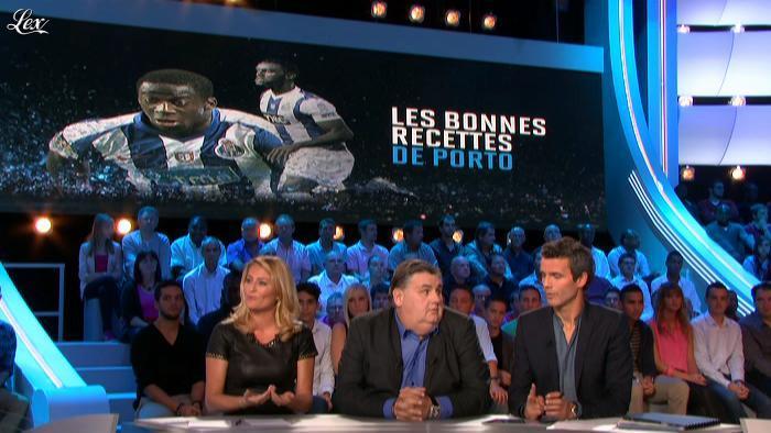 Astrid Bard dans Canal Football Club. Diffusé à la télévision le 30/09/12.