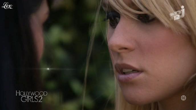 Ayem, Soizic Sap et Aline Sap dans Hollywood Girls. Diffusé à la télévision le 24/10/12.