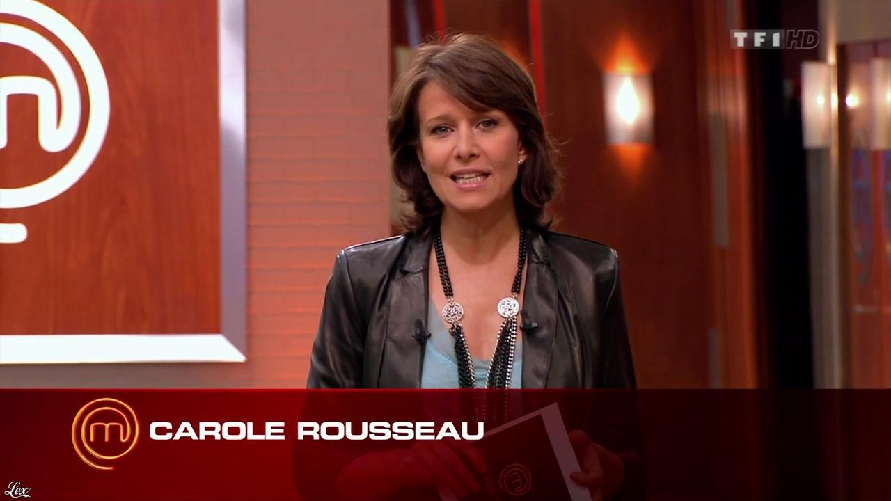 Carole Rousseau dans Masterchef. Diffusé à la télévision le 04/10/12.