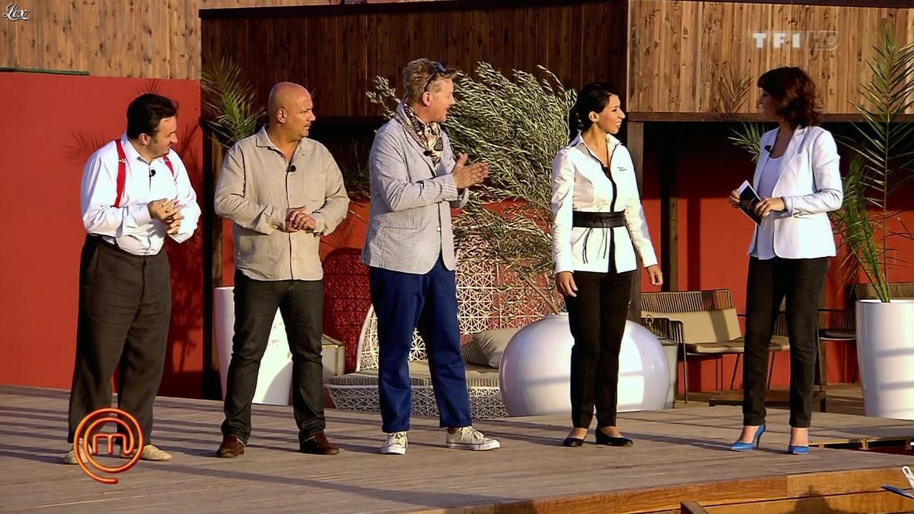 Carole Rousseau dans Masterchef. Diffusé à la télévision le 27/09/12.