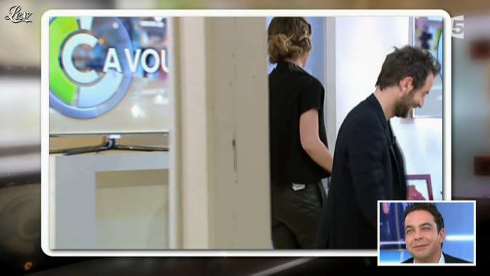 Daphné Burki dans C à Vous. Diffusé à la télévision le 22/06/12.